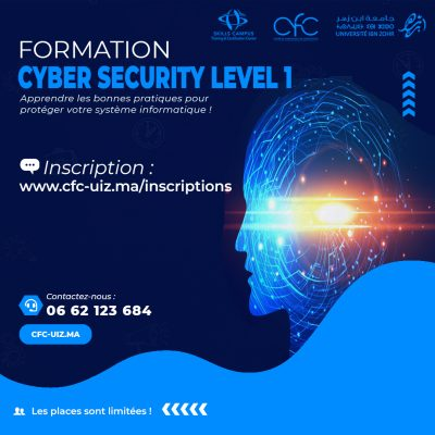 formation CYBER SECURITY formation informatique formation secourisme formation peofessionnelle agadir maroc